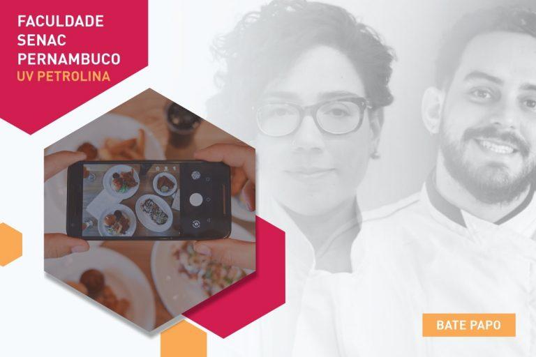 Faculdade Senac recebe alunos com bate-papo sobre redes sociais e Gastronomia