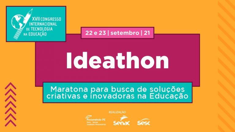 Inovação e empreendedorismo: Ideathon inscreve até próximo dia 20